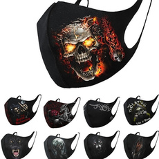 party, Cosplay, dustmask, skull