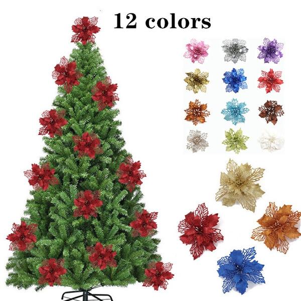 christmasfakeflower, christmastreependant, Flowers, Christmas
