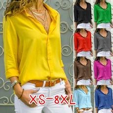 blouse, Plus Size, chiffon, Women Blouse