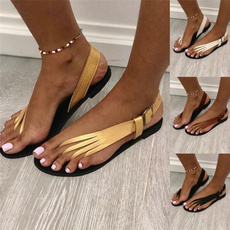 bohemia, Summer, Sandals, Flats shoes