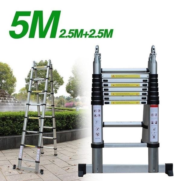 multipurposeladder, Aluminum, foldingstepladder, safetylockinghinge