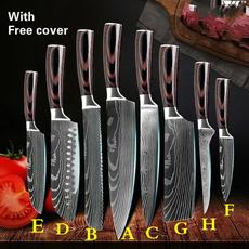 Kitchen & Dining, Stainless Steel, Laser, knivesknifeset