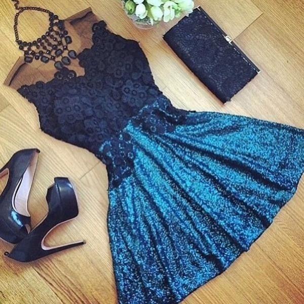 Mini, Lace, ladies dress, Dress