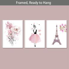 pink, unicornprint, canvasprint, Flowers