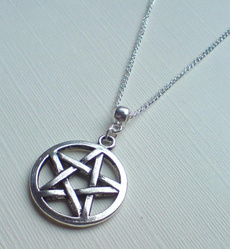 Charm Jewelry, wiccanecklace, Jewelry, pentaclenecklace