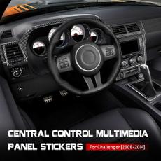 Dodge, Fiber, challenger2009, carcenterpanel