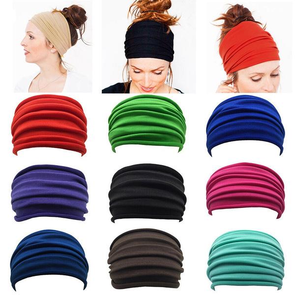 elasticheadband, Head, elastichairband, Yoga