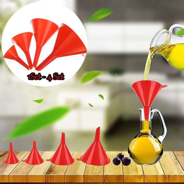 Kitchen, funnel, plasticfunnel, Home & Living