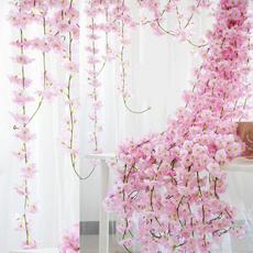 Garden, Garland, cherryblossom, vine