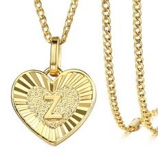 Steel, Corazón, goldpendant, Love