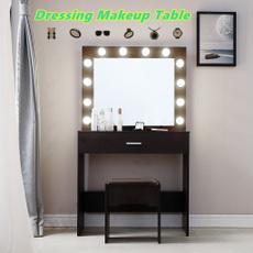 Makeup Mirrors, mirrormakeup, lights, led