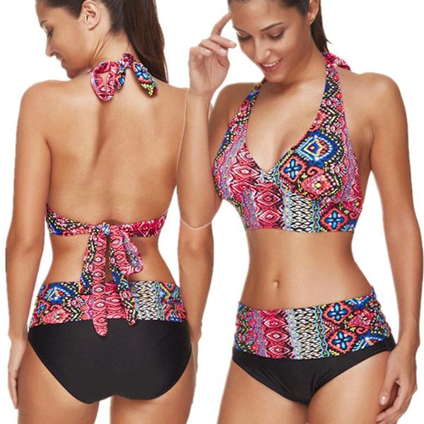 glamorous, bathing suit, Fashion, women beachwear