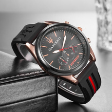 watchformen, quartz, maserati, classic watch