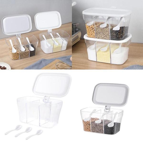 Storage Box, saltstorageholder, Kitchen & Dining, kitchenutensil