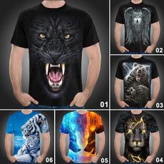 Fashion, Graphic Shirt, short sleeves, casual shirt