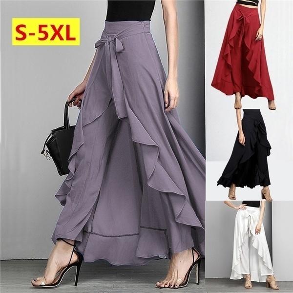 Fashion, ruffle, Waist, pants
