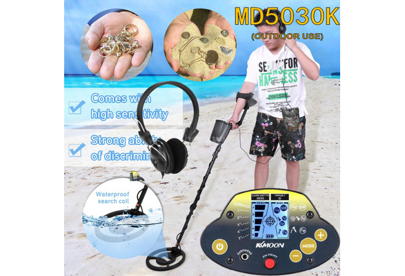 Underground Metal Detector KKmoon MD-5030KK Portable Easy Installation Metal Detecting for Adults High Sensitivity Jewelry Treasure Gold Tool Finder