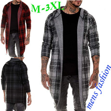 plaid shirt, Fashion, Cotton T Shirt, Long Sleeve