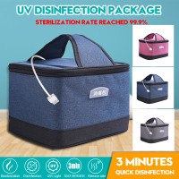 Toys Underwear Toothbrush Beauty Tools CE-Certification Jewelry KGK U-V Sterilizer Bag Portable LED Dis~Infection Storage Bag 99/% Cleaned USB Powered Cleaner for Baby Bottle