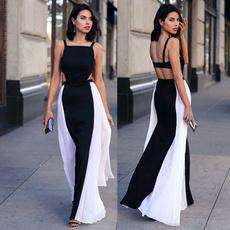 slim dress, Fashion, chiffon, Summer