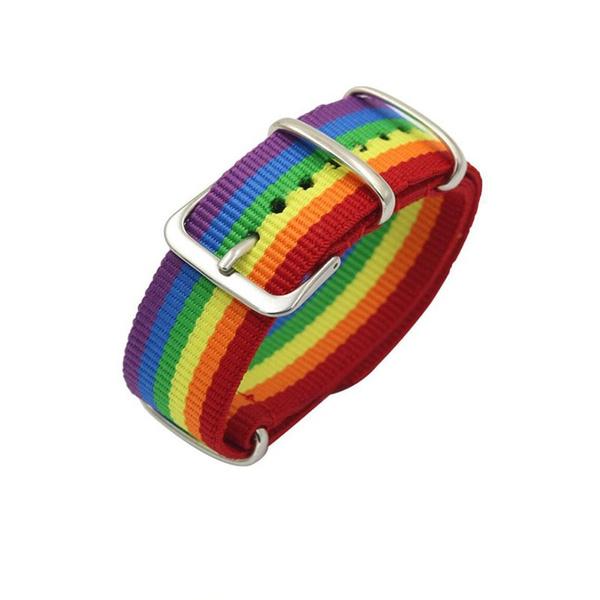 woven, rainbow, Jewelry, bisexual