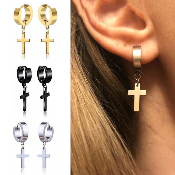 crossearring, rapamphiphop, vintage earrings, Earring