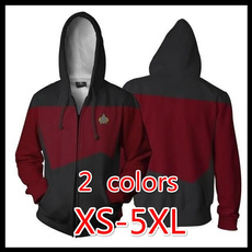 Fashion, Star, zipper hoodie, hooded