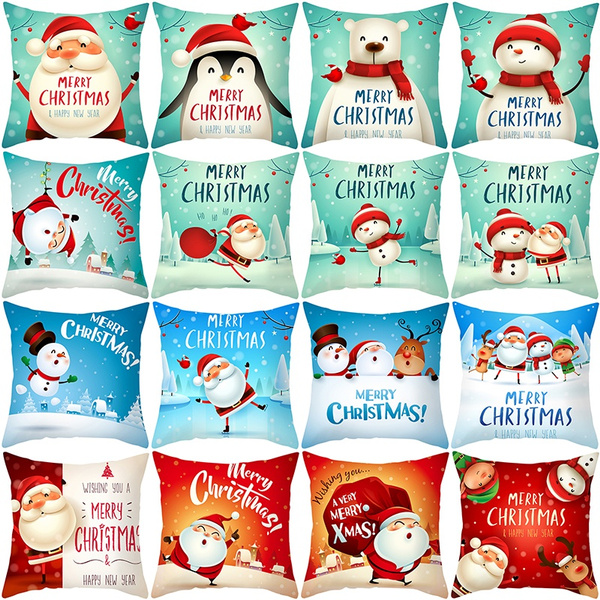 christmaspillowcase, sofacushioncover, Hotel, Pillowcases