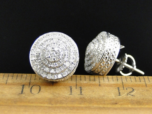 Sterling, hip hop jewelry, Jewelry, Stud Earring