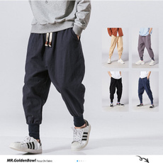 harem, trousers, Chinese, pants
