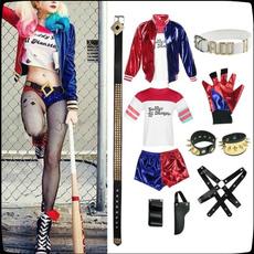 Cosplay, harleyquinn, Halloween Costume, Accessories