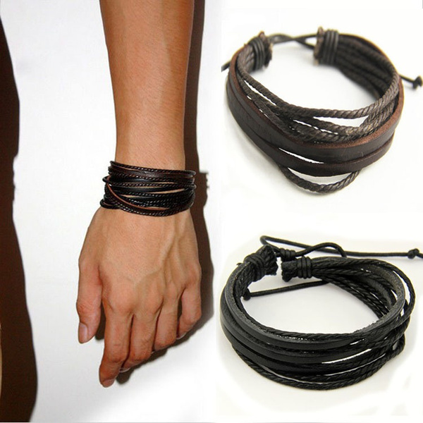 Fashion, handwoven, leather, threeleather