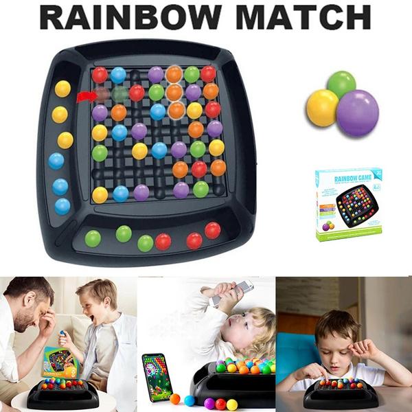 rainbow, Toy, rainbowballeliminationgame, Chess