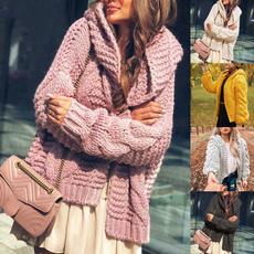 Fashion, sweater coat, Long Sleeve, slim
