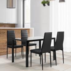 Fashion, Home Decor, tablechair, glasstable
