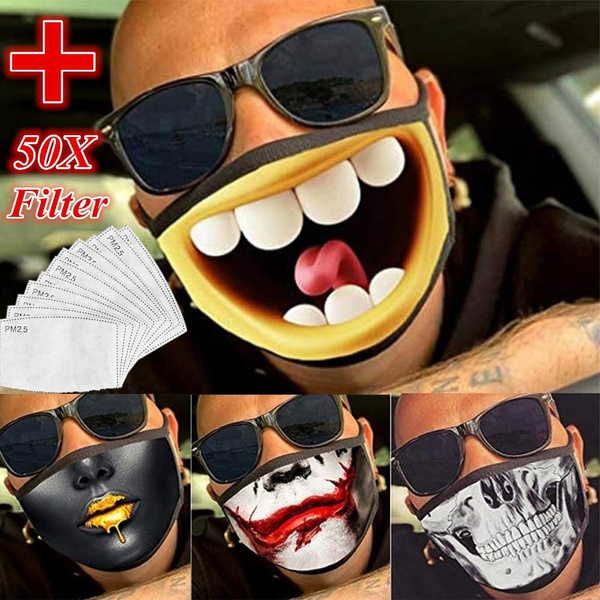 Funny, influenza, mouthmask, replacefilter