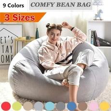 beanbagcover, Decor, beanbag, inflatablecouch