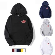 akatsuki, pullover hoodie, Long sleeved, Tops