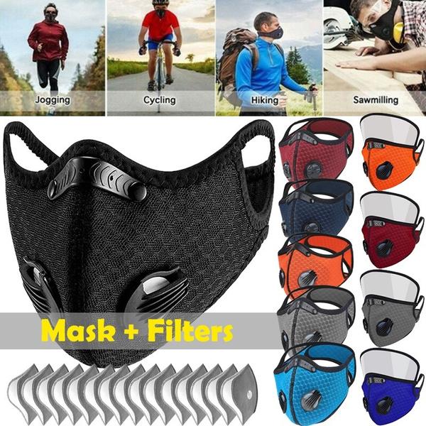 respiratormask, Outdoor, Cycling, shield