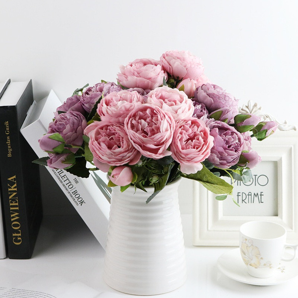Home Decor, Bouquet, silkflower, decoration