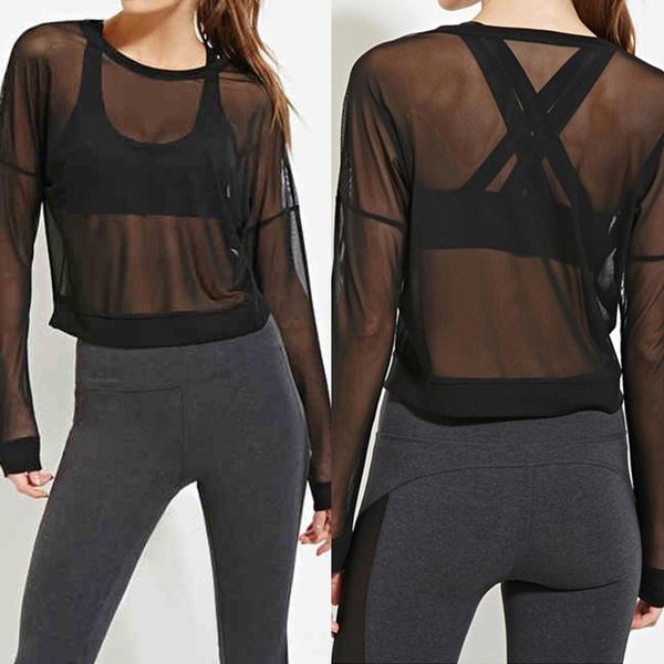 blouse, Sheer, Plus Size, clubwear