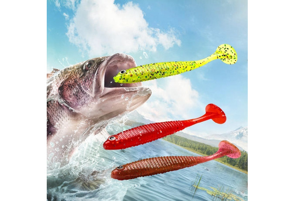 Details about  /20 Pcs 1.8 inch Soft Plastic Shad Fishing Lures Impact Paddle tail  Swimbaits