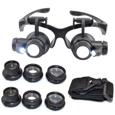 magnifyingeyeglas, watchesrepair, eye, magnifierwithledlight