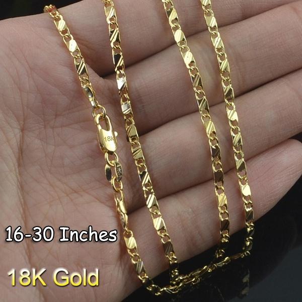 Fashion, goldchainnecklace, gold, goldplatednecklace
