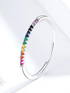 Sterling, rainbow, Jewelry, necklace for women