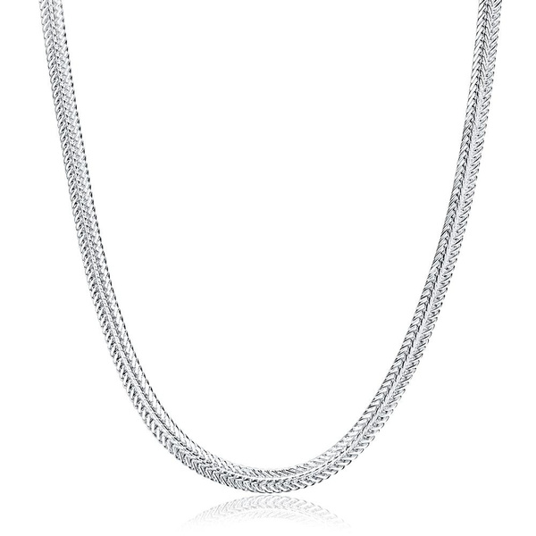 goldplated, White Gold, Chain Necklace, Jewelry