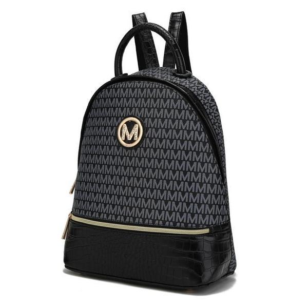 black, Tote Bag, mia, Backpacks