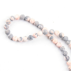 pink, beadspacer, Jewelry, Grey