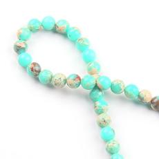 greenleopard, Bracelet, beadspacer, greenbead