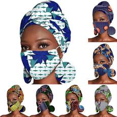 printheadband, cottonheadband, Masks, africanheadwrap
